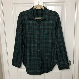 Altar'd State Plaid Top